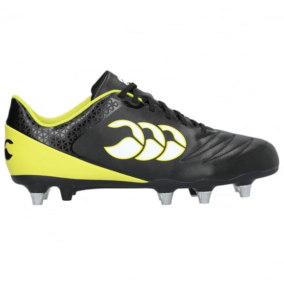 Stampede 2.0 SG Rugby Boots Black/Yellow
