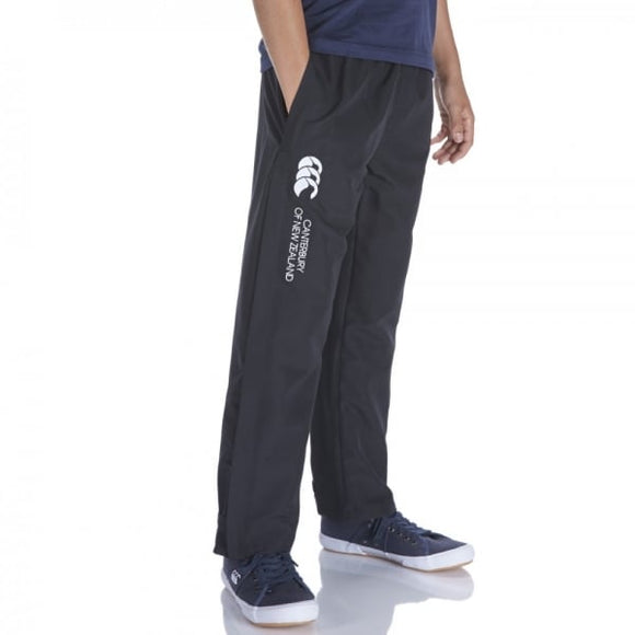 Open Hem Stadium Pants Kids Black