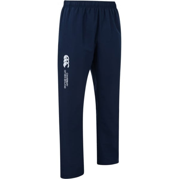 Open Hem Stadium Pants Mens Navy