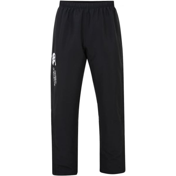Open Hem Stadium Pants Mens Black