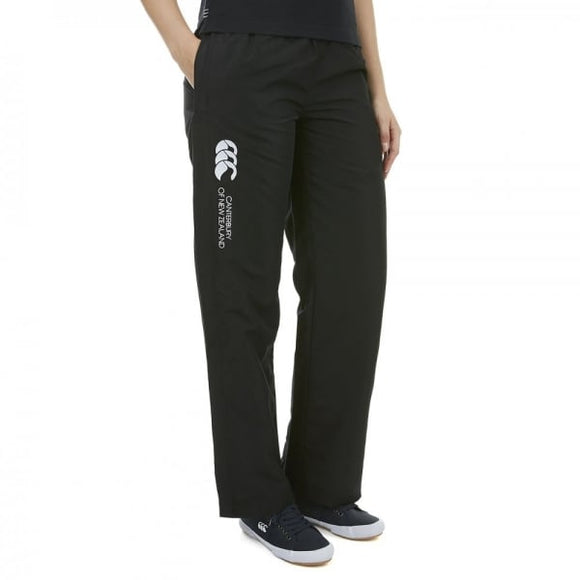 Open Hem Stadium Pants Ladies Black
