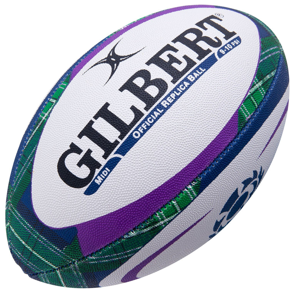 Scotland Rugby Tartan Midi Replica Ball