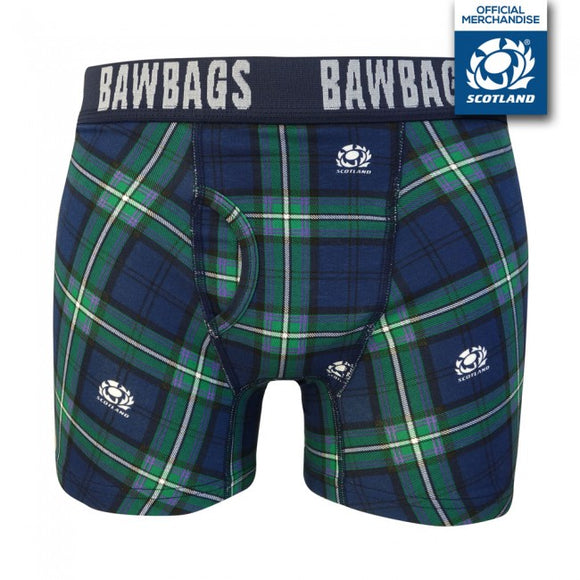 Scotland Rugby Tartan Original Mens Boxer Shorts