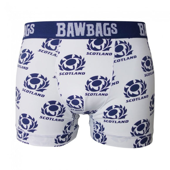 Scotland Rugby Away Cool De Sacs Mens Boxer Shorts