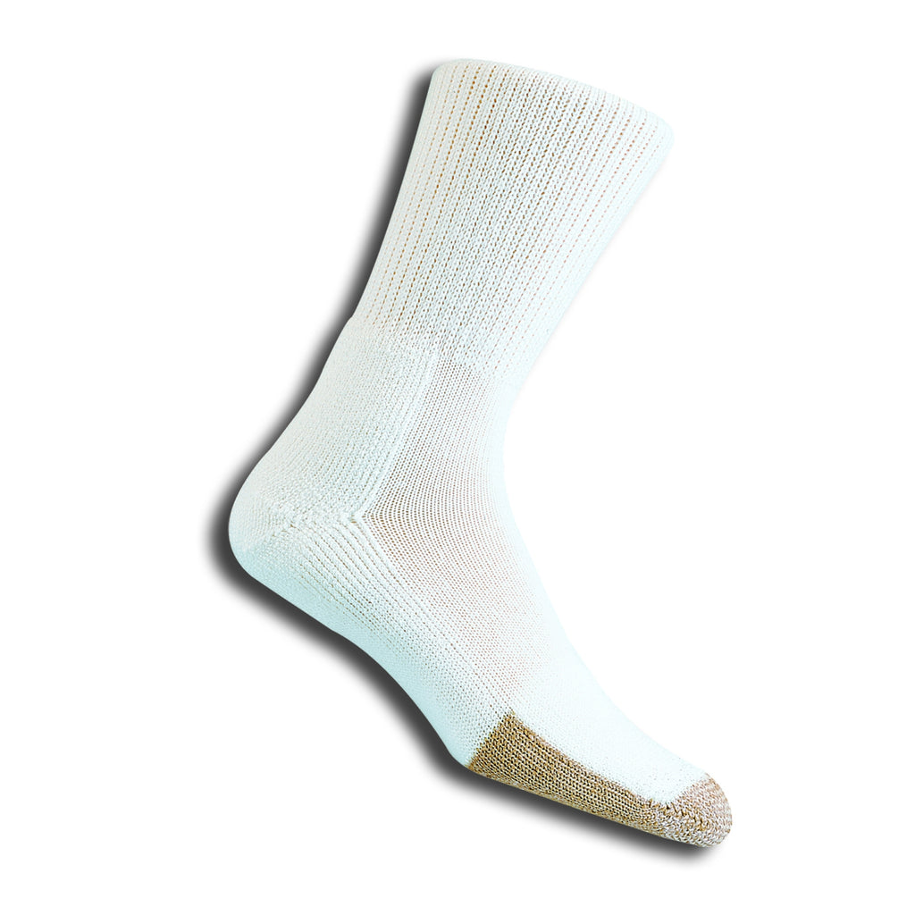 Unisex TX Tennis Crew Socks White