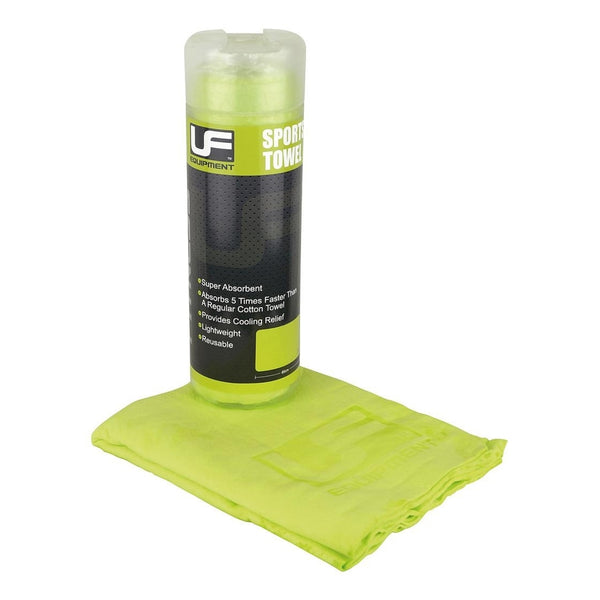 Lightweight Sports Towel Lime Green