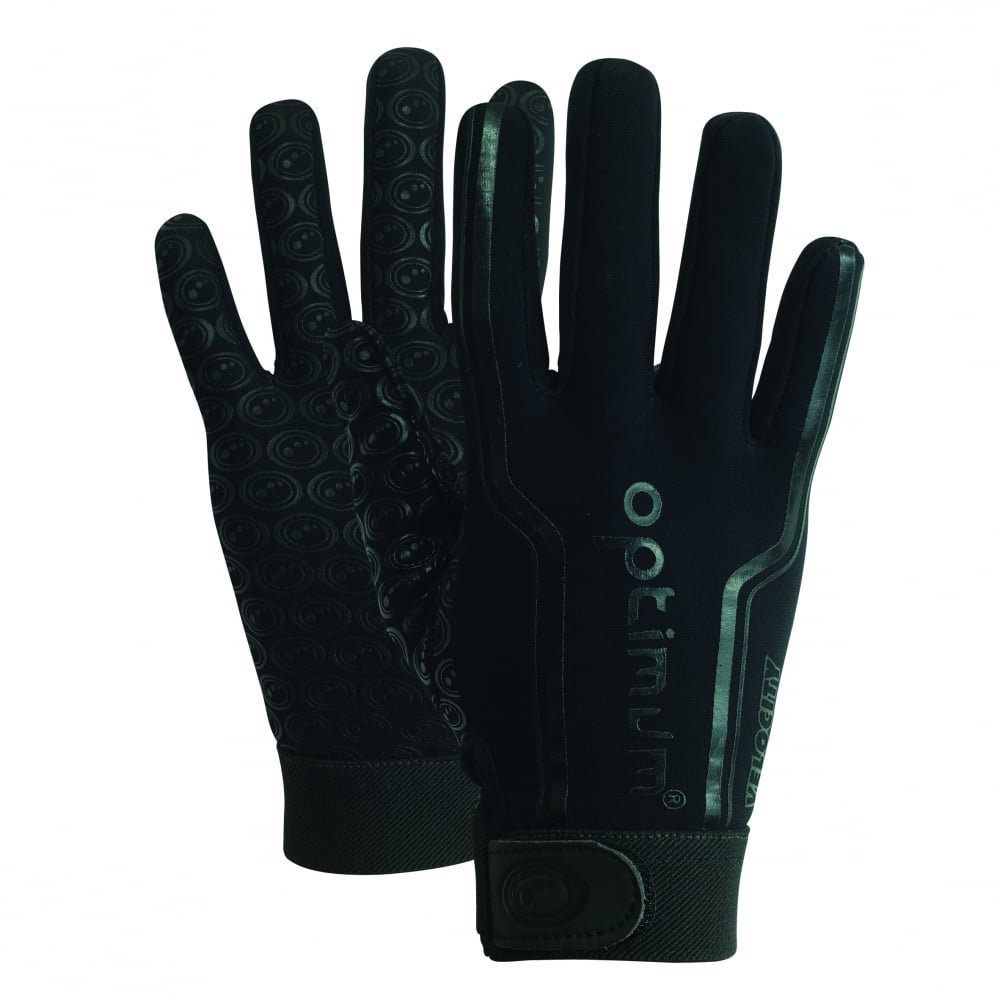 Velocity Thermal Rugby Gloves Black
