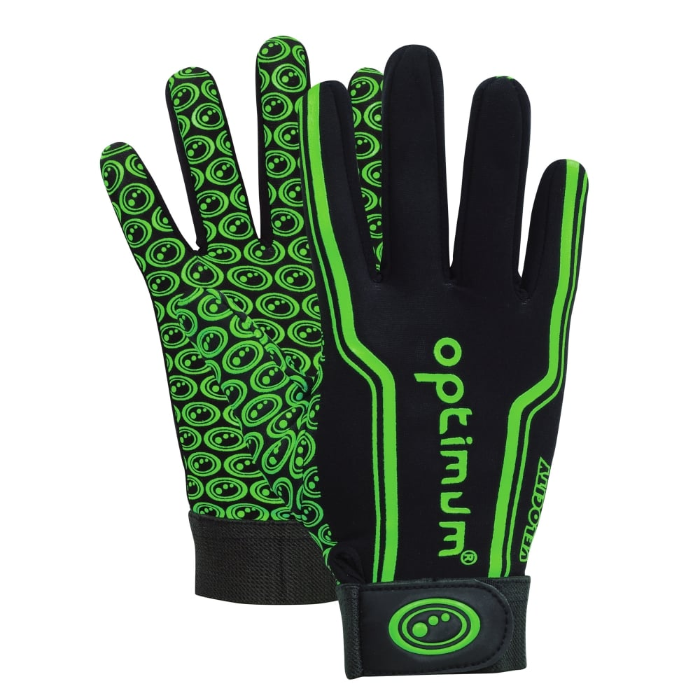 Velocity Thermal Rugby Gloves Green/Black