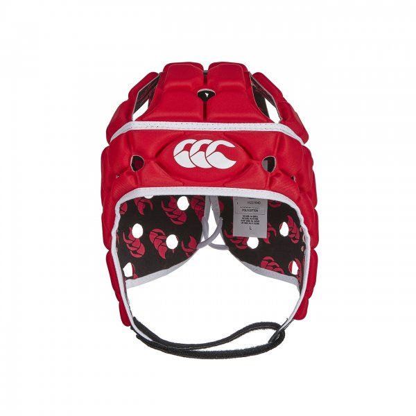 Ventilator Rugby Headguard Flag Red