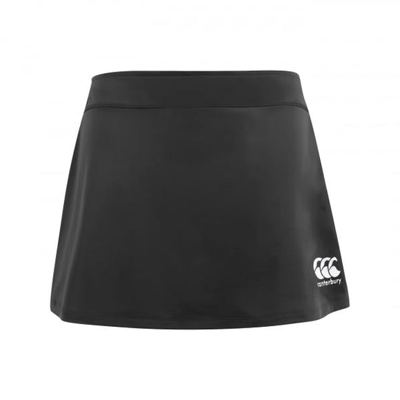 Plain Team Skort Black