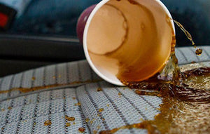 How to Clean the Sticky Cup Holder in Your Car?