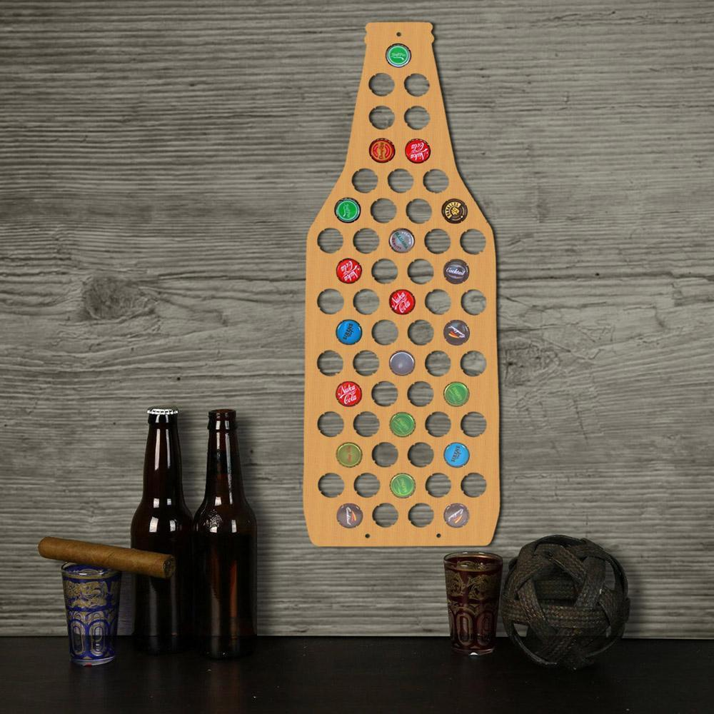 Beer Cap Map - Bottle - Blindigo