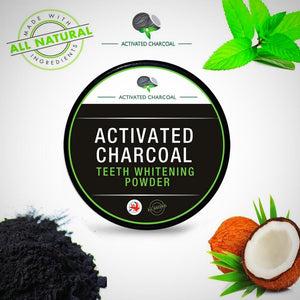 Bamboo Teeth Whitening Powder w/activated Charcoal - Blindigo