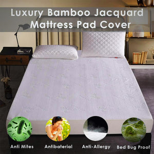 Bamboo Mattress Pad Cover - Blindigo