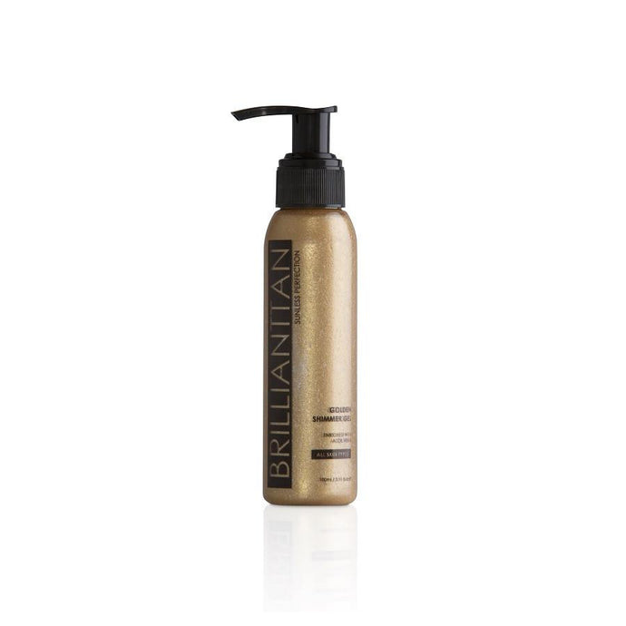 Brilliant Tan Luminous Golden Shimmer Gel