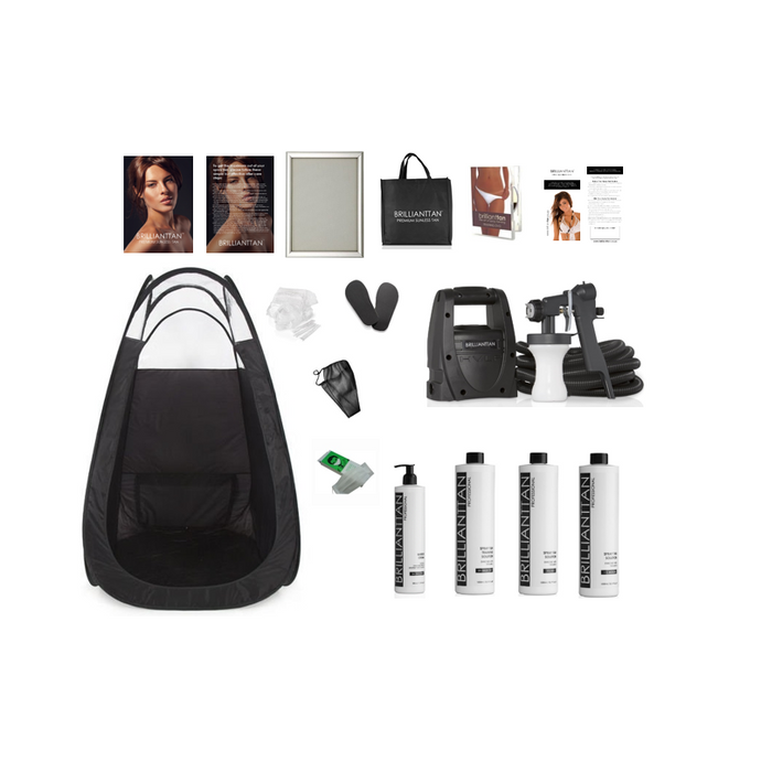 Brilliant Tan - Brilliant Spray Tanning Business Start-up Kit (includes training DVD)