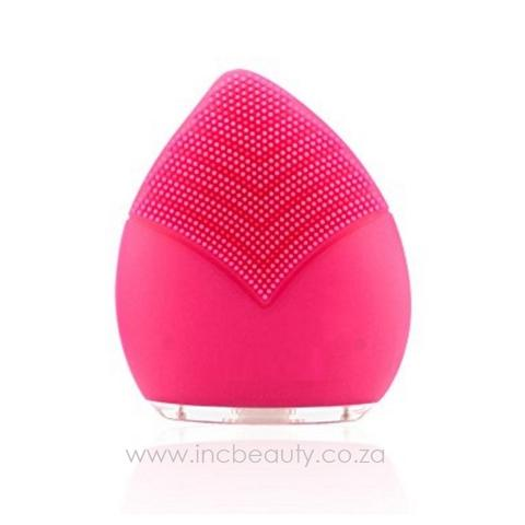 Sonic Leaf™ Facial Cleanser & Massager - Pink