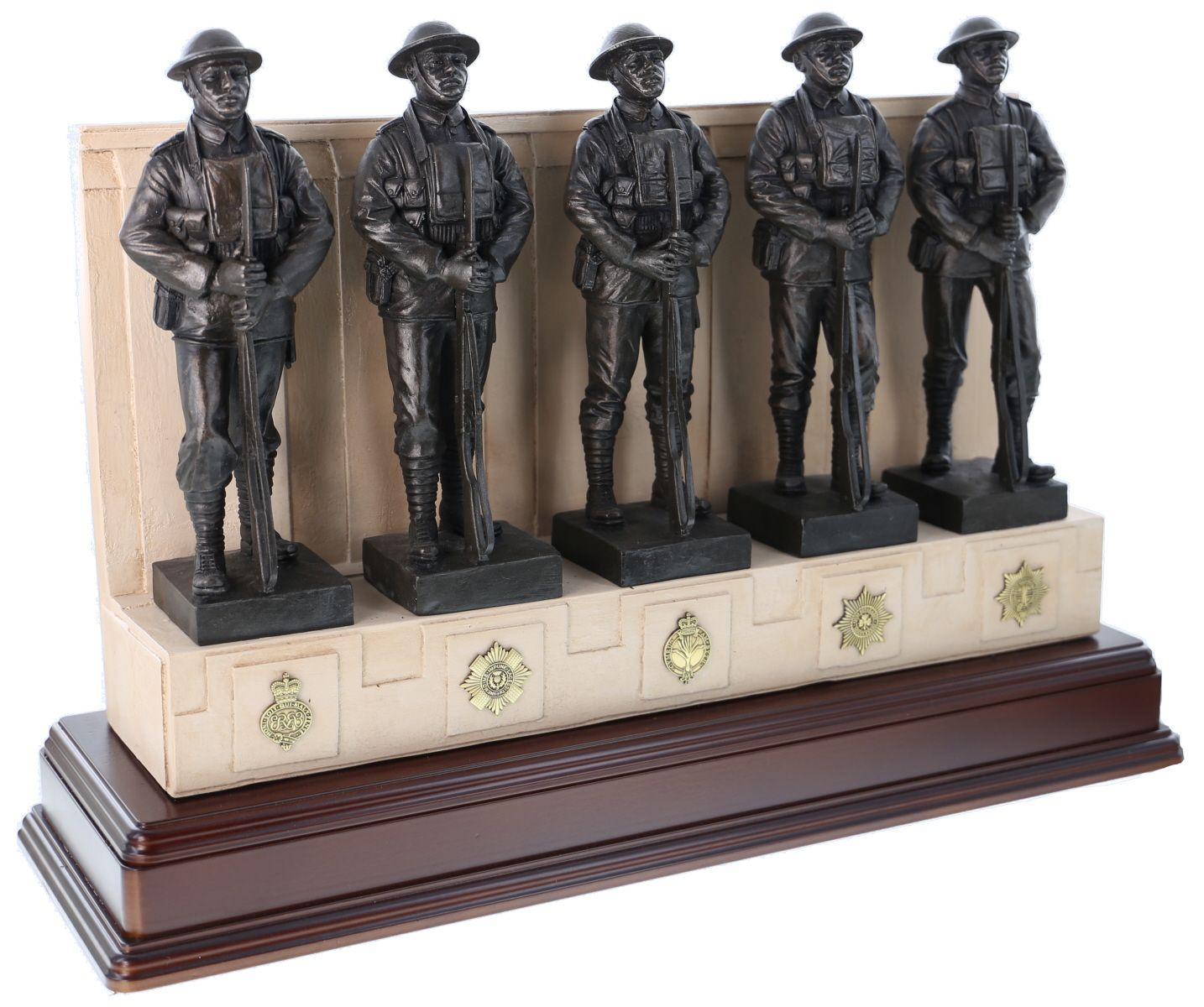 The Guards Memorial Statuette - An excellently sculptured statuette of the life-sized Guards' Memorial