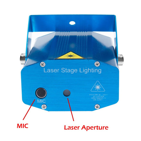 Mini LED Laser Projector