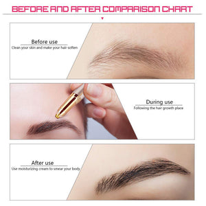 Deaderm® Electric Painless Eyebrow Trimmer