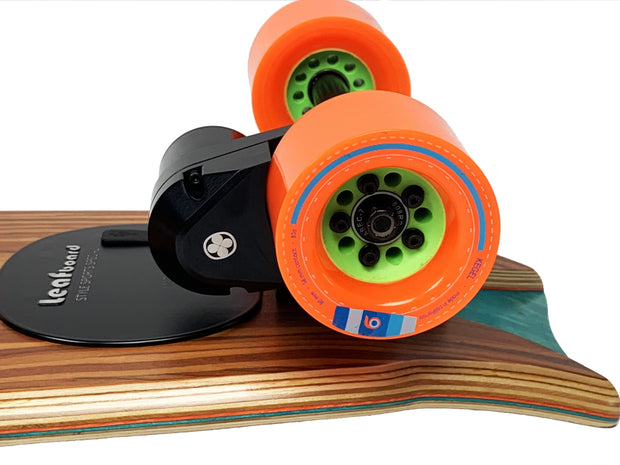 Leafboard Plus - Complete Replacement Wheels Orangatang Kegel 80 mm - Leafboard