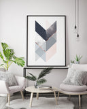 Chevron Arrow Print