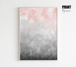 Watercolour Ombre Print