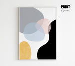 Abstract Shapes Poster