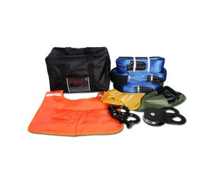 Winch Recovery Snatch Straps Kit