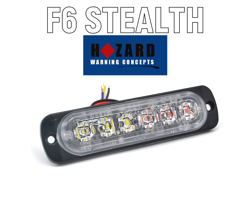 F6 STEALTH   Surface Mount commercial 6 Pack