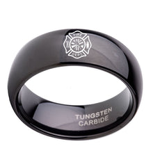Fire Fighter Rings Tungsten Carbide