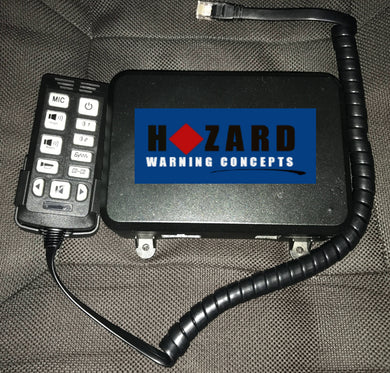 Hazard PA-100M Siren Amp with PA