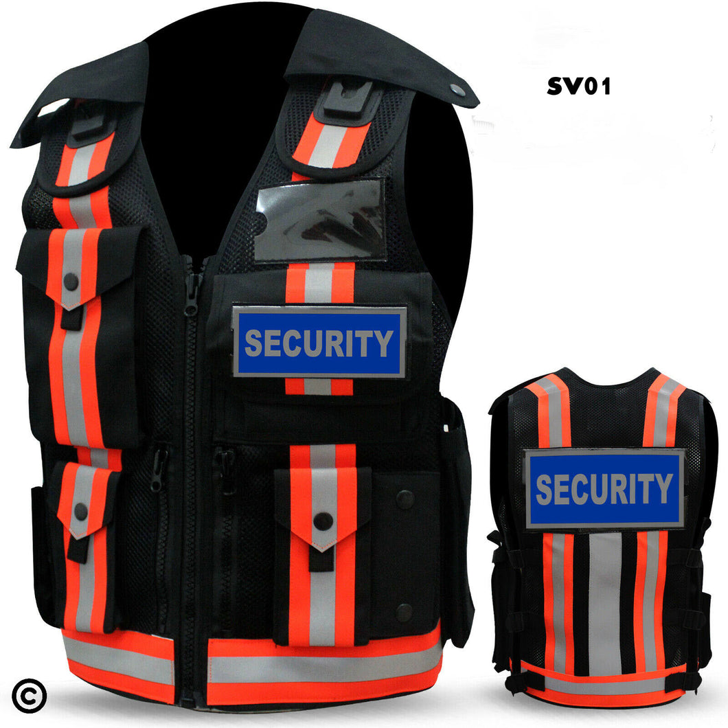 Security load bearing vest