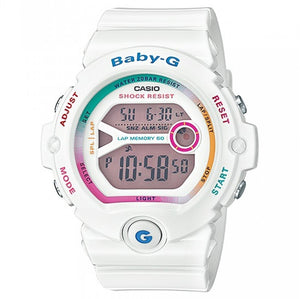 CASIO BABY-G DIGITAL FEMALE WHITE WATCH BG6903-7C BG-6903-7CDR