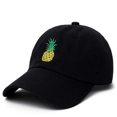 Pineapple Embroidered Cap