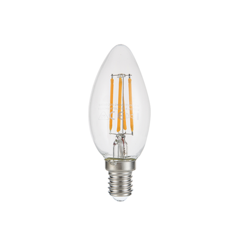 Led Candle Filament Light Bulb 4w Ses Es Bc 2700k