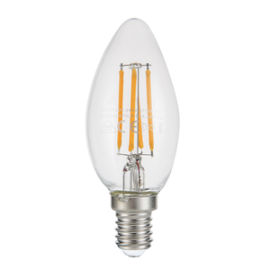 LED Candle Filament Light Bulb