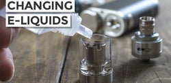 Tips For Swapping Between Different Vape Juice Flavours