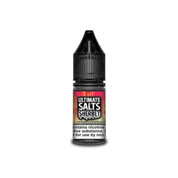 Ultimate Salts Apple & Mango Sherbet By Ultimate Salts - Nicotine Salt 10ml