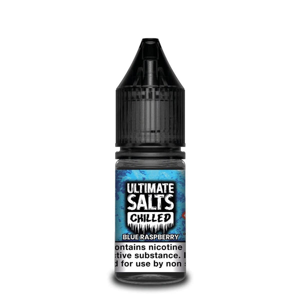 Ultimate Salts Blue Raspberry Chilled By Ultimate Salts - Nicotine Salt 10ml