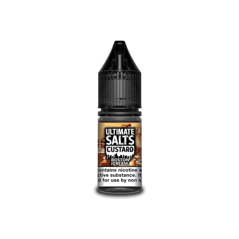 Ultimate Salts Boston Cream Custard By Ultimate Salts - Nicotine Salt 10ml