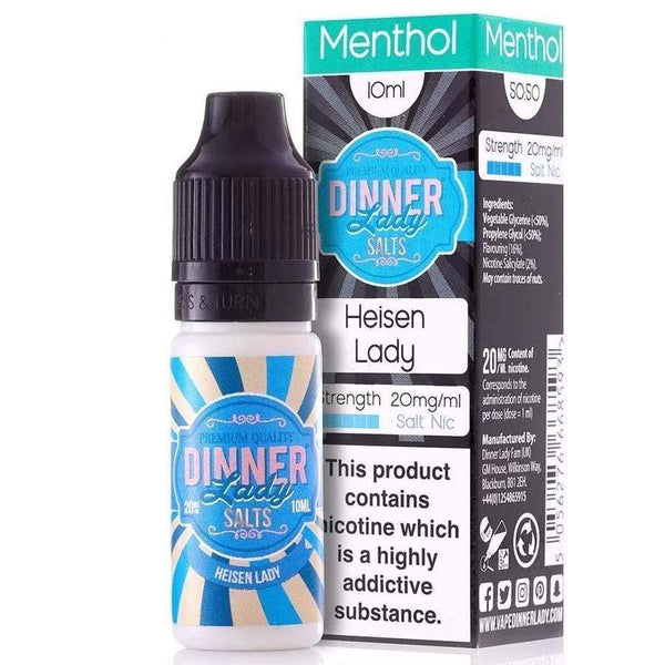 Dinner Lady Dinner Lady 10ml Salt Nicotine E-Liquid - Heisenlady