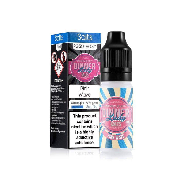 Dinner Lady Dinner Lady 10ml Salt Nicotine E-Liquid - Pink Wave