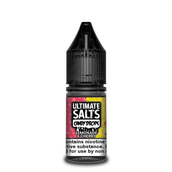 Ultimate Salts Lemonade Cherry Candy Drops By Ultimate Salts - Nicotine Salt 10ml