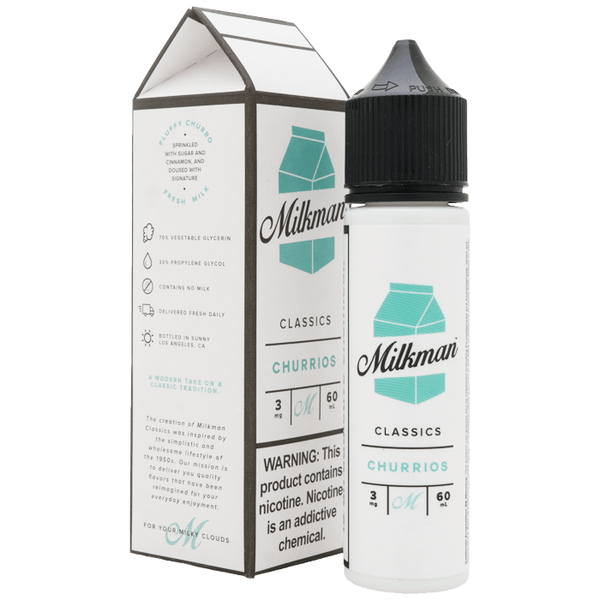 Milkman Milkman 50ml Shortfill E-Liquid - Churrios