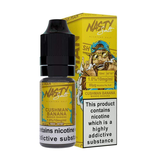 Nasty Juice Nasty Juice Nic Salt 10ml - Cushman Banana