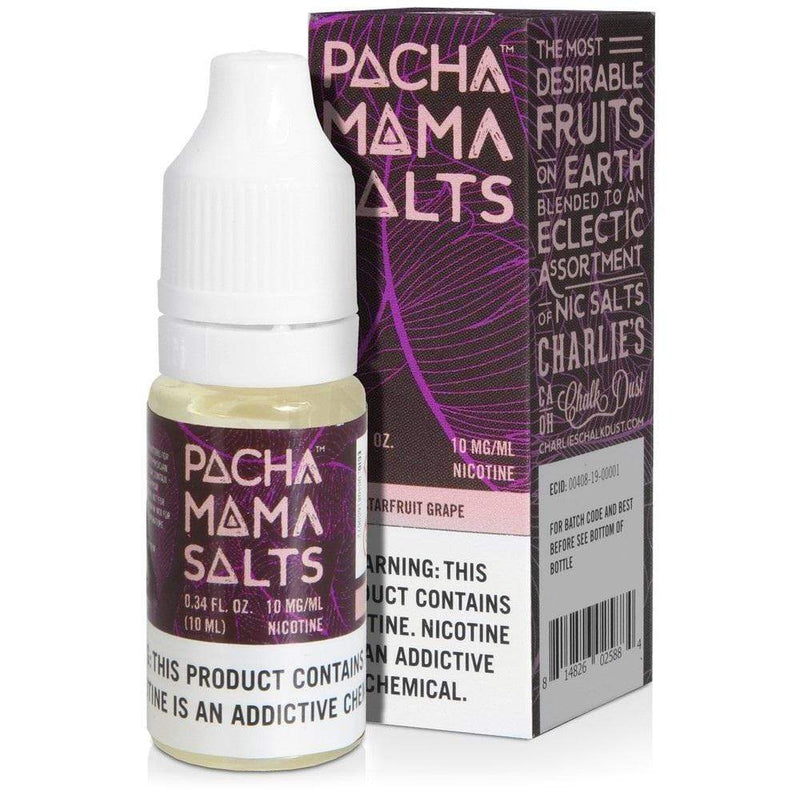 Pachamama 20mg Pachamama Salts 10ml Liquid - Starfruit Grape 20mg