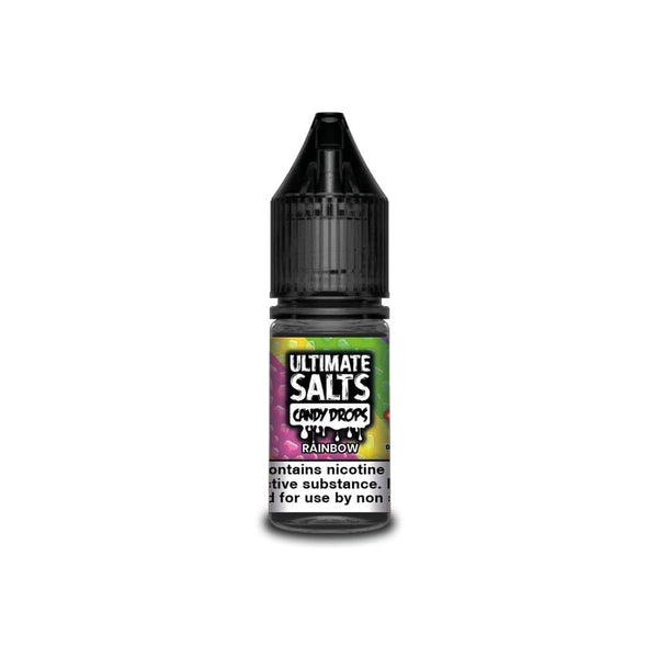 Ultimate Salts Rainbow Candy Drops By Ultimate Salts - Nicotine Salt 10ml