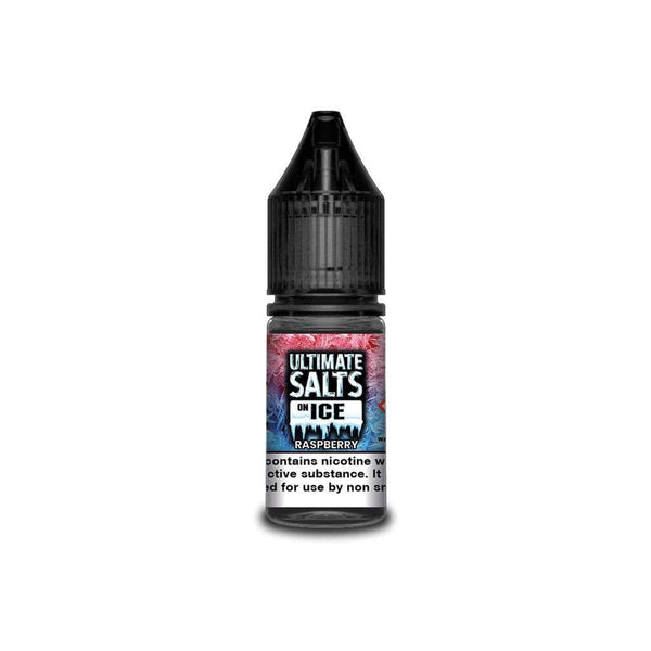 Ultimate Salts Raspberry Ice By Ultimate Salts - Nicotine Salt 10ml