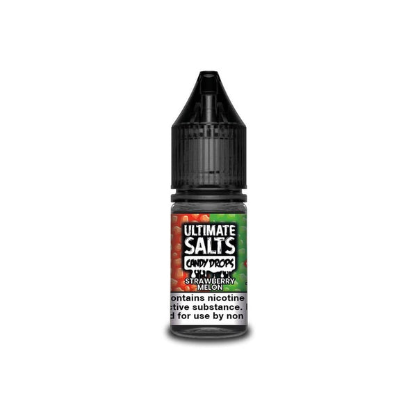 Ultimate Salts Strawberry Melon Candy Drops By Ultimate Salts - Nicotine Salt 10ml